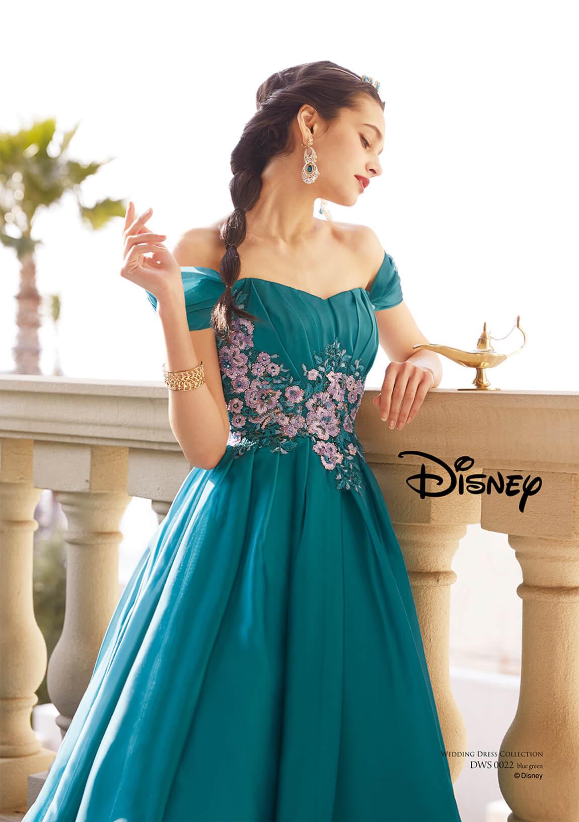 ジャスミン ウェディングドレス(ディズニー ウェディングドレス
