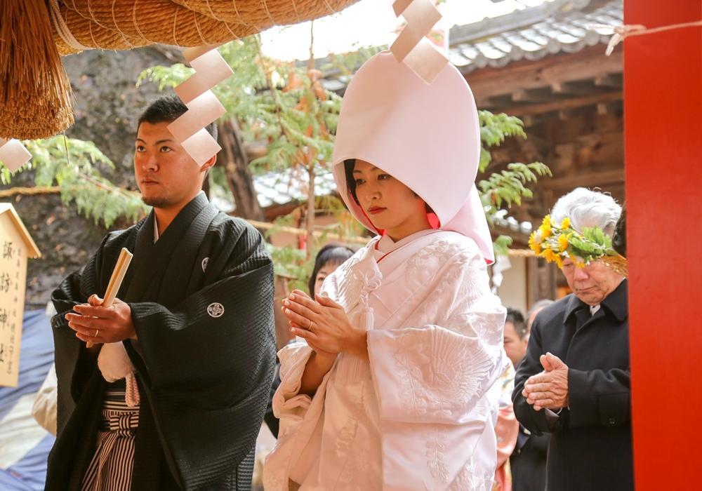 【トラディショナルプラン】 美しき日本の伝統的な神前式挙式、生島足島神社をはじめ真田神社などで厳かな神社婚をお手伝いするプラン!