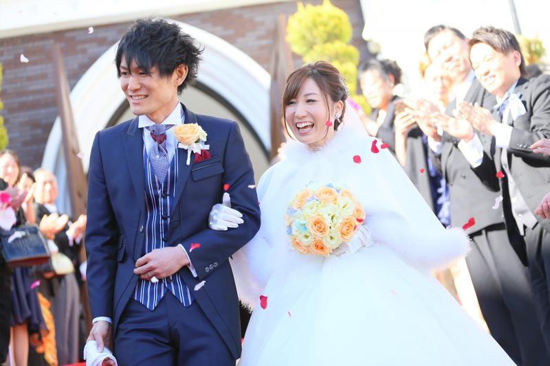Yuma & Satomi 様写真