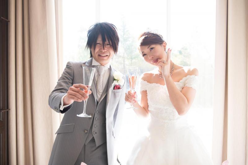 Shouta & Megumi 様写真